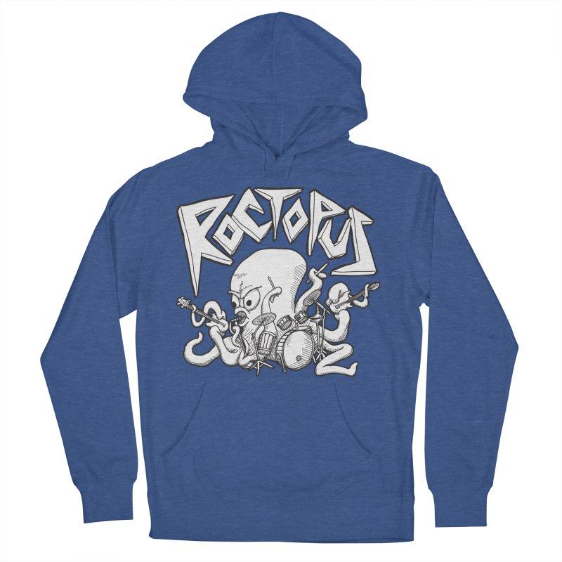 Rocktopus Men's Pullover Hoody by voorheis's Artist Shop