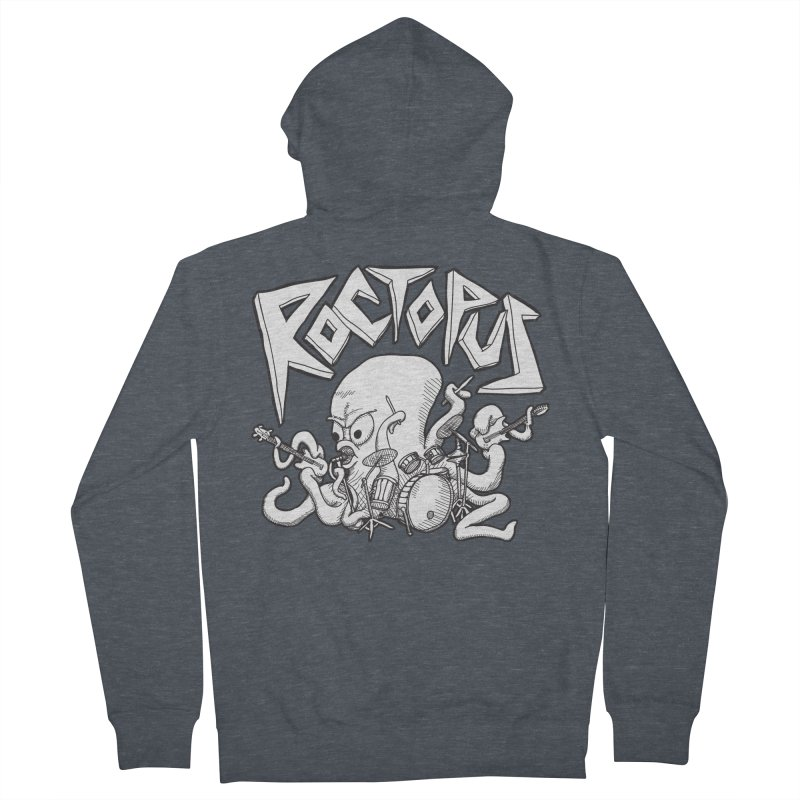 Rocktopus Women's Zip-Up Hoody by voorheis's Artist Shop