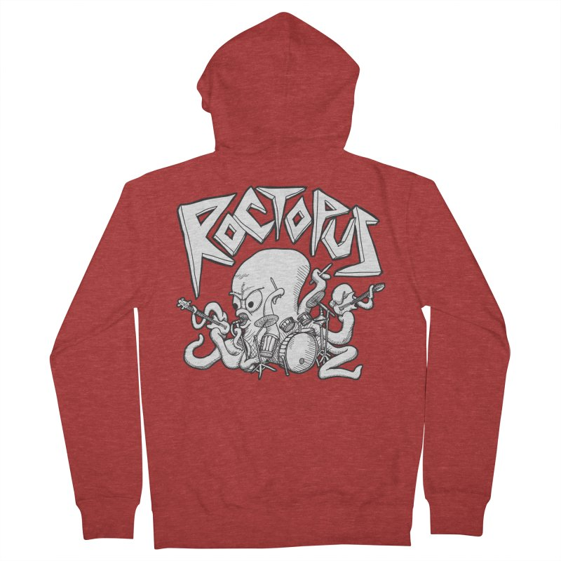 Rocktopus Women's Zip-Up Hoody by voorheis's Artist Shop