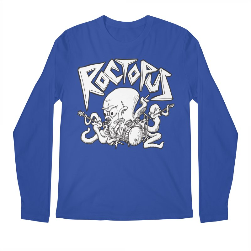 Rocktopus Men's Longsleeve T-Shirt by voorheis's Artist Shop