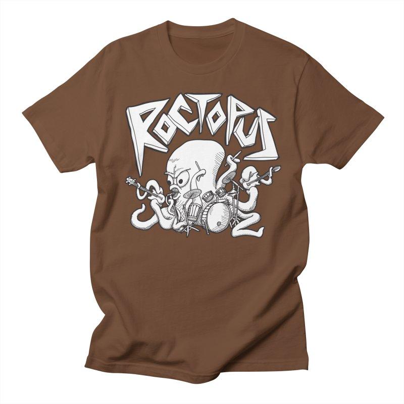 Rocktopus Men's T-shirt by voorheis's Artist Shop