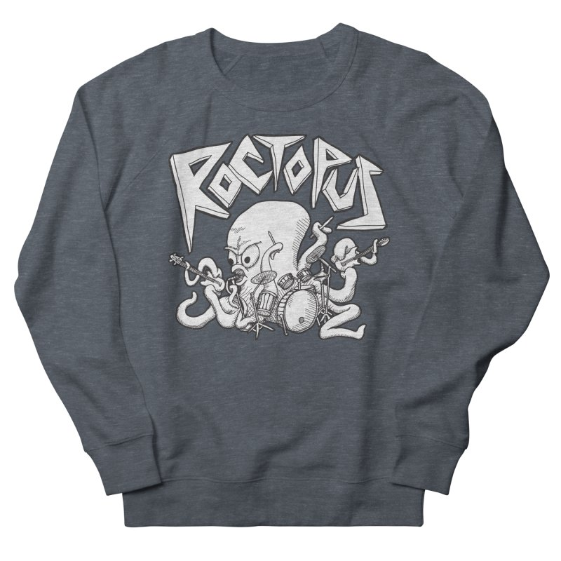 Rocktopus Men's Sweatshirt by voorheis's Artist Shop