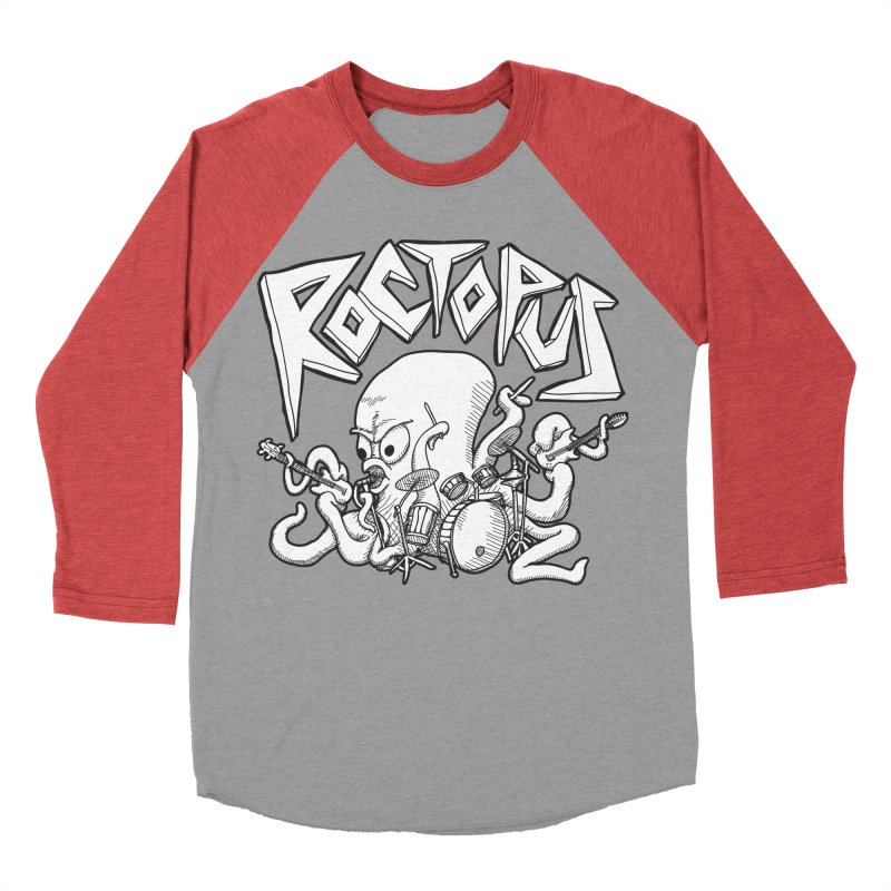 Rocktopus Women's Baseball Triblend T-Shirt by voorheis's Artist Shop