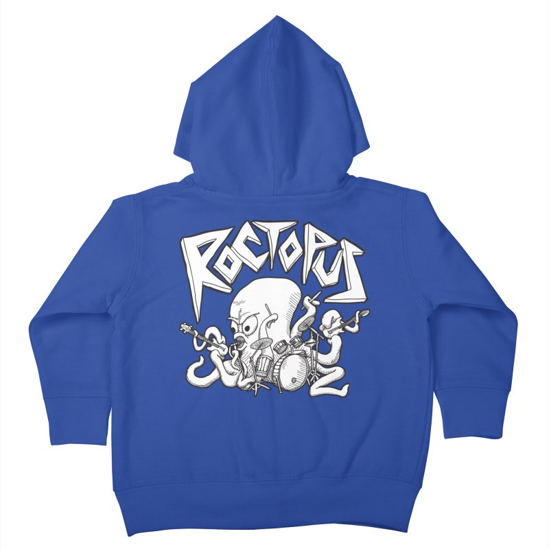 Rocktopus Kids Toddler Zip-Up Hoody by voorheis's Artist Shop