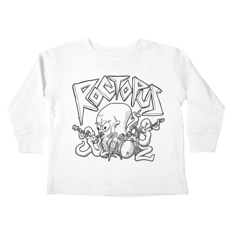 Rocktopus Kids Toddler Longsleeve T-Shirt by voorheis's Artist Shop