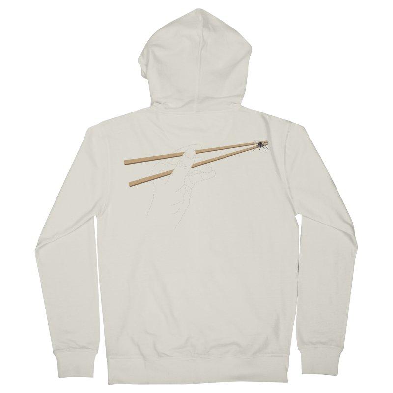 Chopsticks Men's Zip-Up Hoody by voorheis's Artist Shop