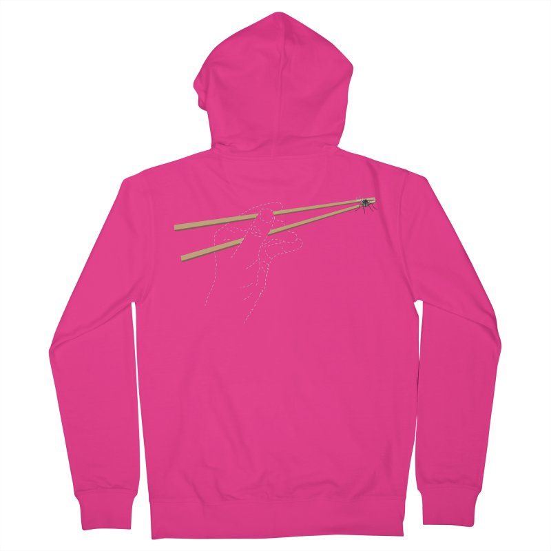 Chopsticks Men's Zip-Up Hoody by voorheis's Artist Shop
