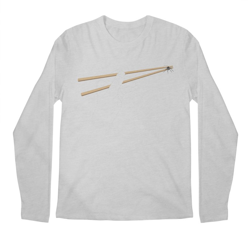Chopsticks Men's Longsleeve T-Shirt by voorheis's Artist Shop