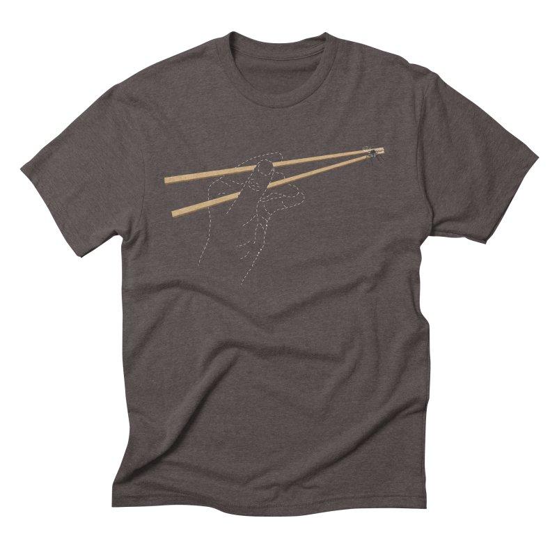 Chopsticks Men's Triblend T-shirt by voorheis's Artist Shop