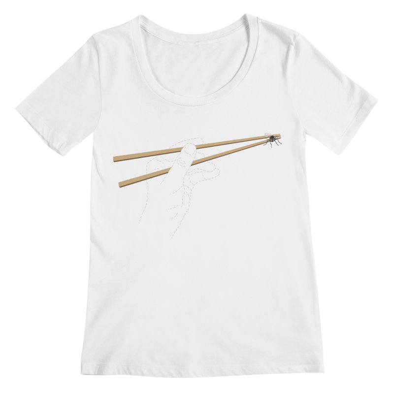 Chopsticks Women's Scoopneck by voorheis's Artist Shop