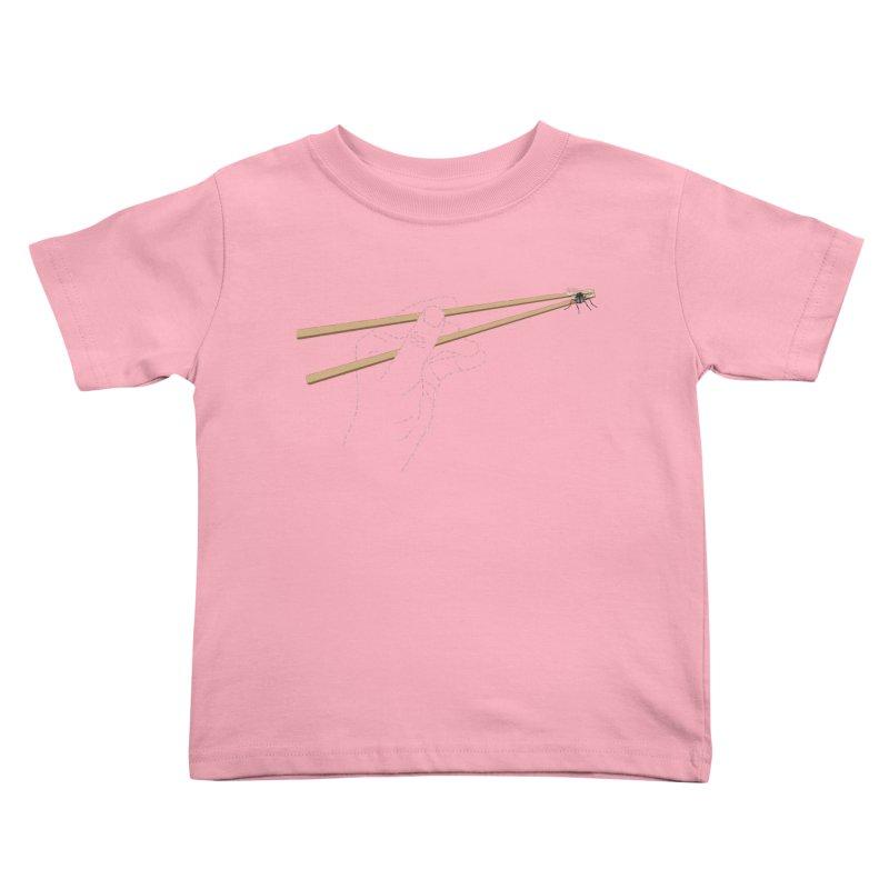 Chopsticks Kids Toddler T-Shirt by voorheis's Artist Shop