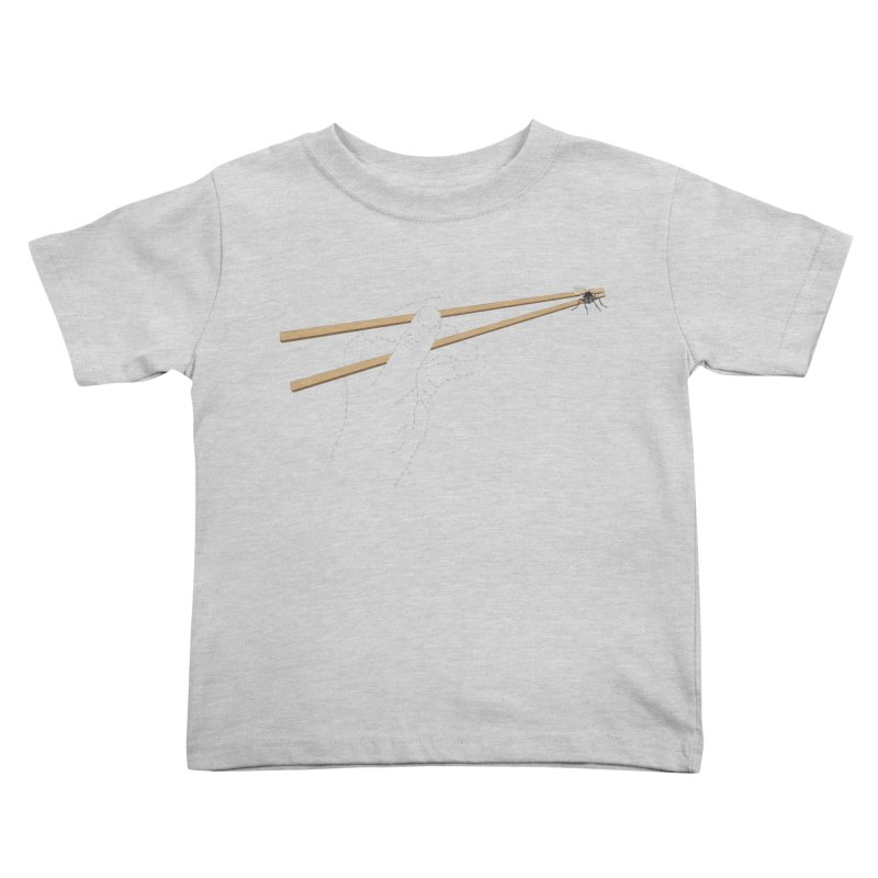 Chopsticks Kids Toddler T-Shirt by voorheis's Artist Shop