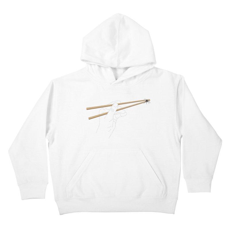 Chopsticks Kids Pullover Hoody by voorheis's Artist Shop