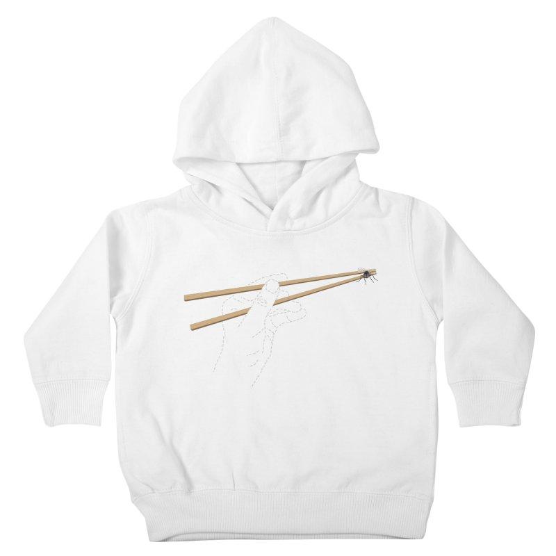 Chopsticks Kids Toddler Pullover Hoody by voorheis's Artist Shop