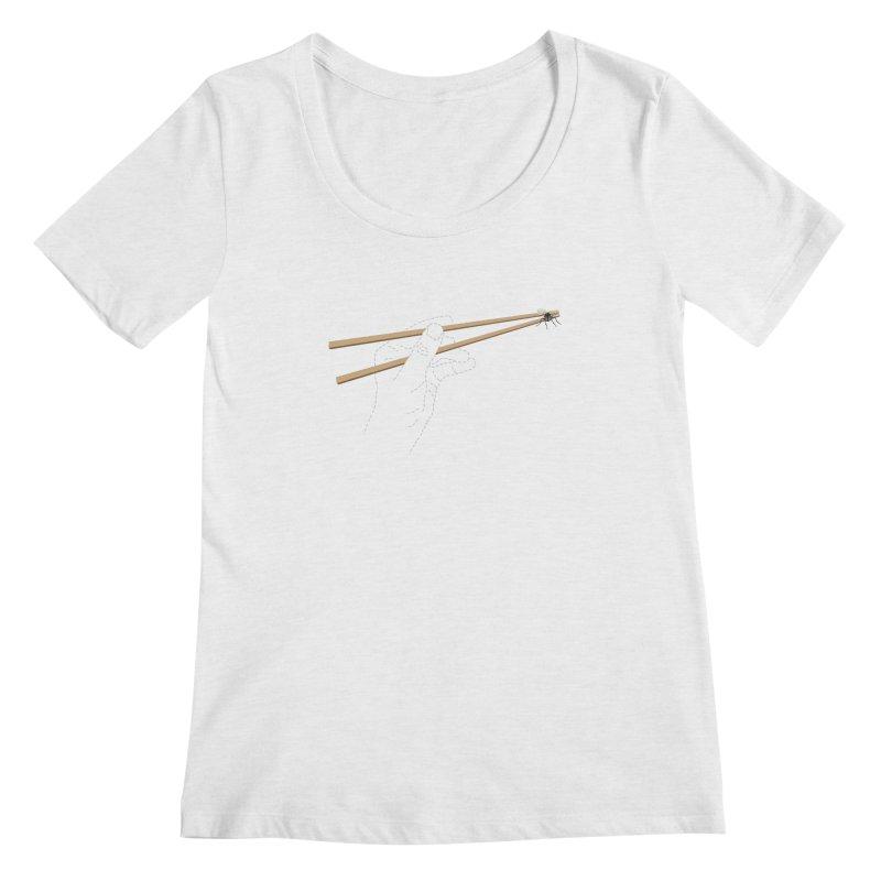 Chopsticks Women's Scoopneck by voorheis's Artist Shop