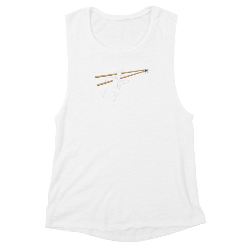 Chopsticks Women's Muscle Tank by voorheis's Artist Shop