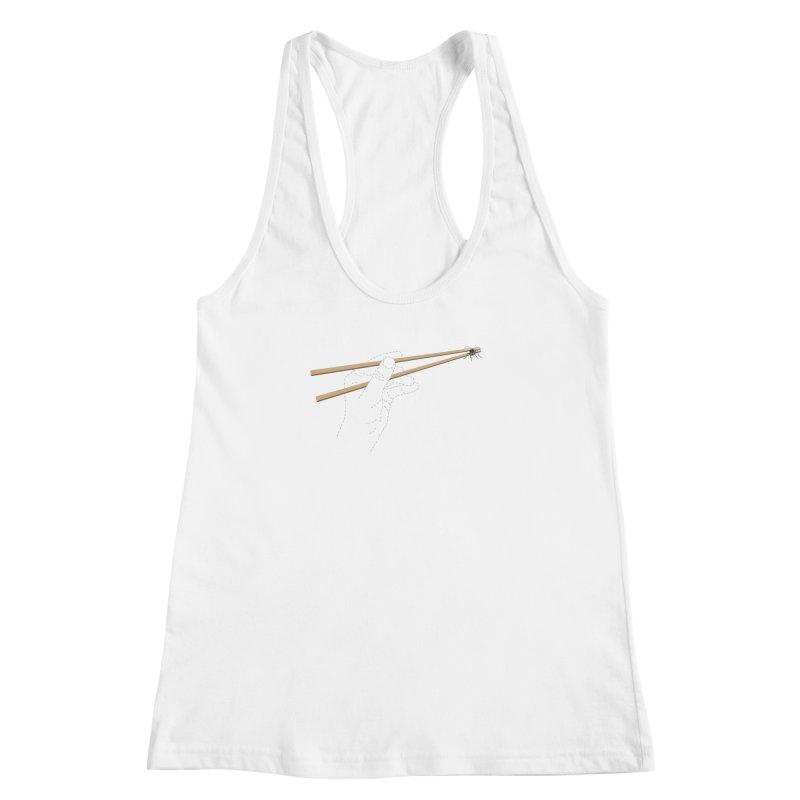 Chopsticks Women's Racerback Tank by voorheis's Artist Shop