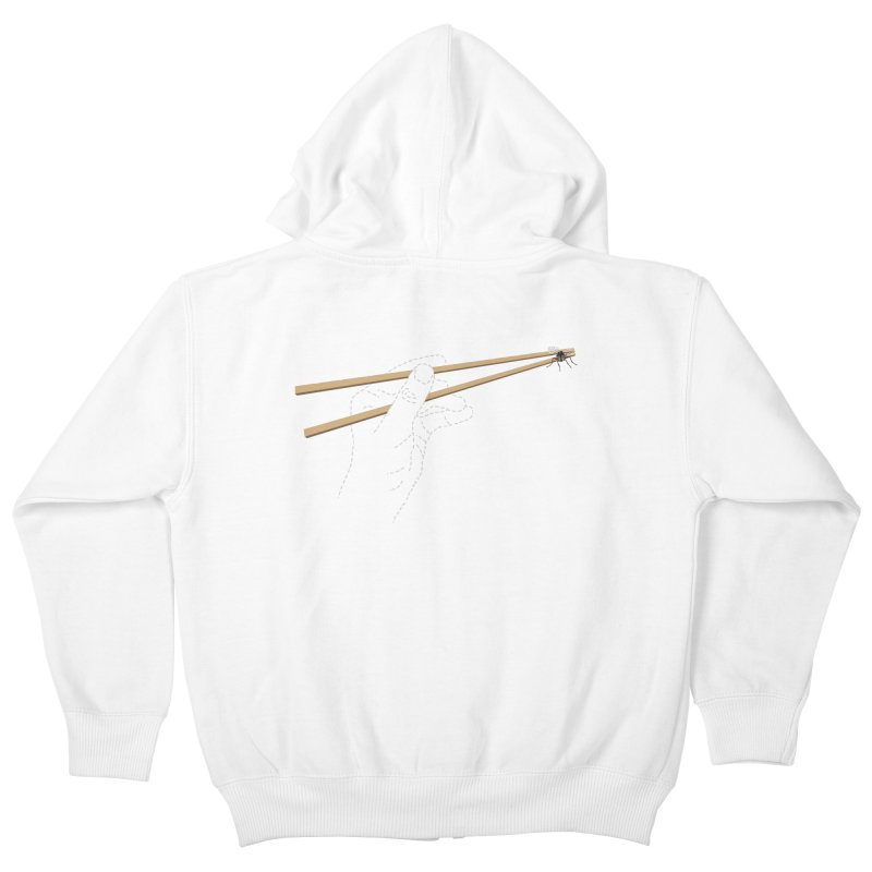 Chopsticks Kids Zip-Up Hoody by voorheis's Artist Shop