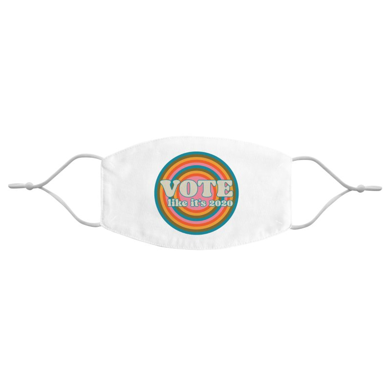 Circle Accessories Face Mask by Vote Like Its 2020