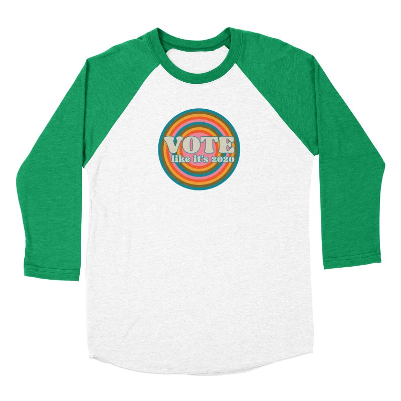Circle Men's Longsleeve T-Shirt by Vote Like Its 2020