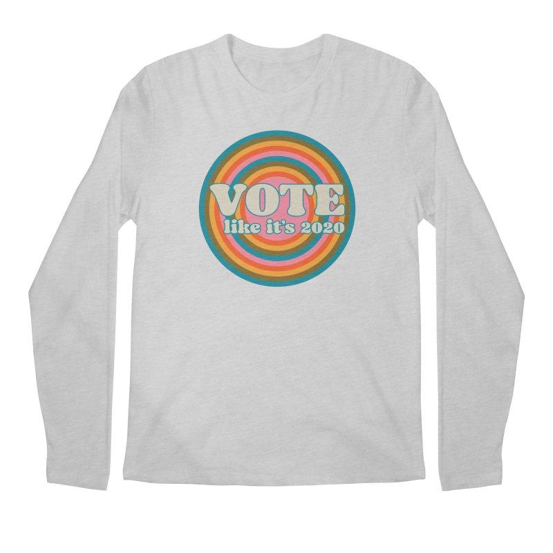 Circle Men's Longsleeve T-Shirt by Vote Like Its 2020