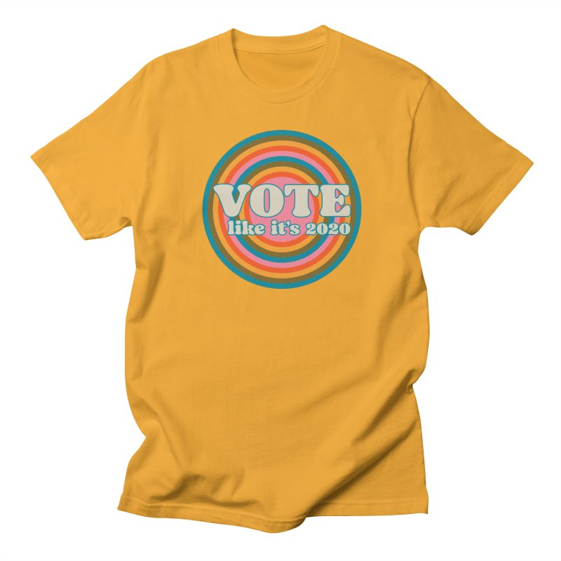 Circle Men's T-Shirt by Vote Like Its 2020