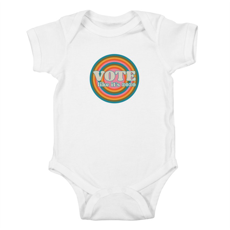 Circle Kids Baby Bodysuit by Vote Like Its 2020