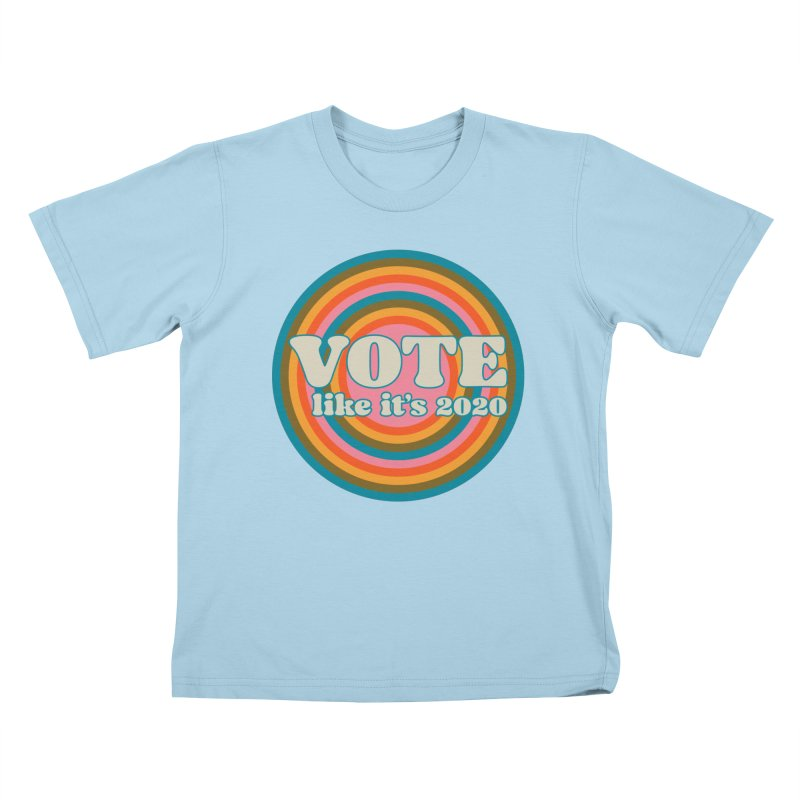 Circle Kids T-Shirt by Vote Like Its 2020