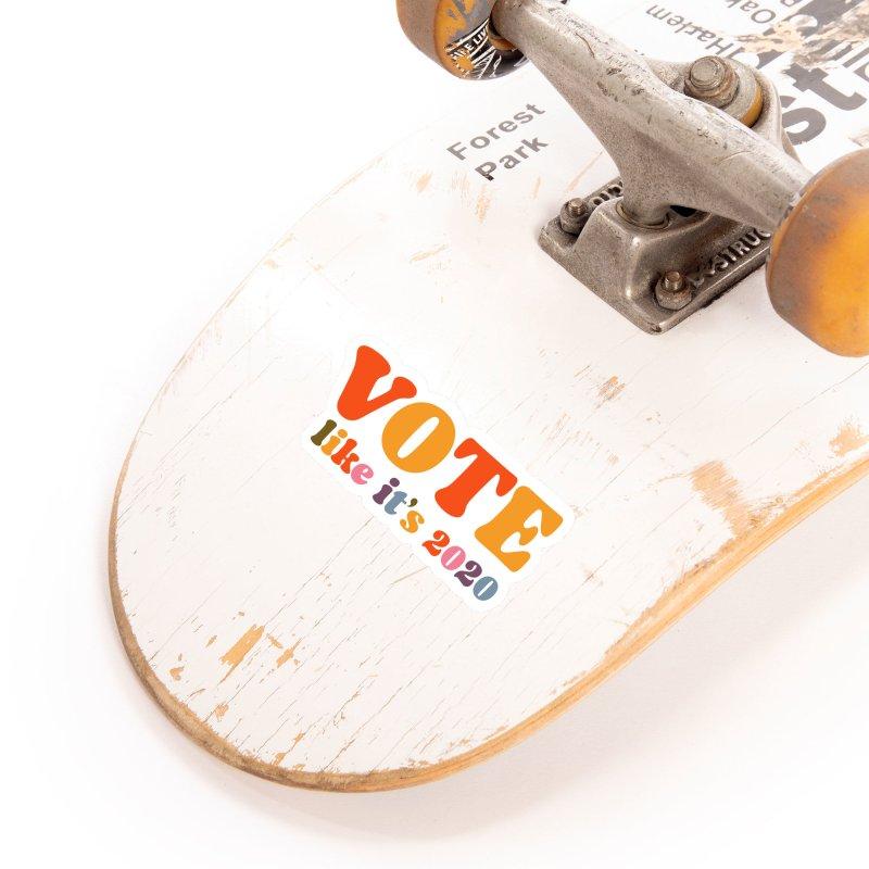Rainbow bright Accessories Sticker by Vote Like Its 2020