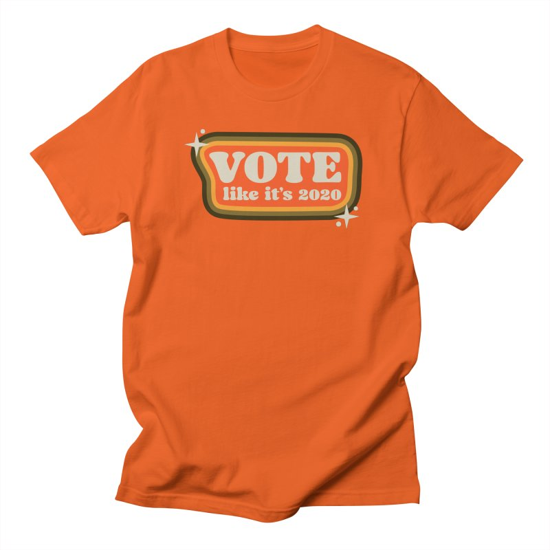 Retro sign - warm Men's T-Shirt by Vote Like Its 2020