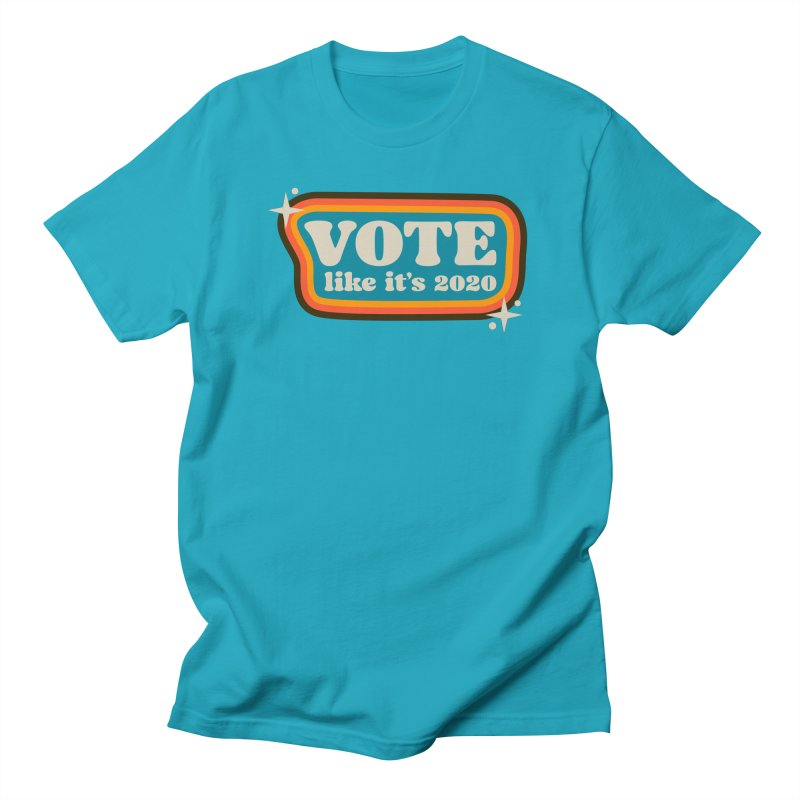 Retro sign - cool Men's T-Shirt by Vote Like Its 2020