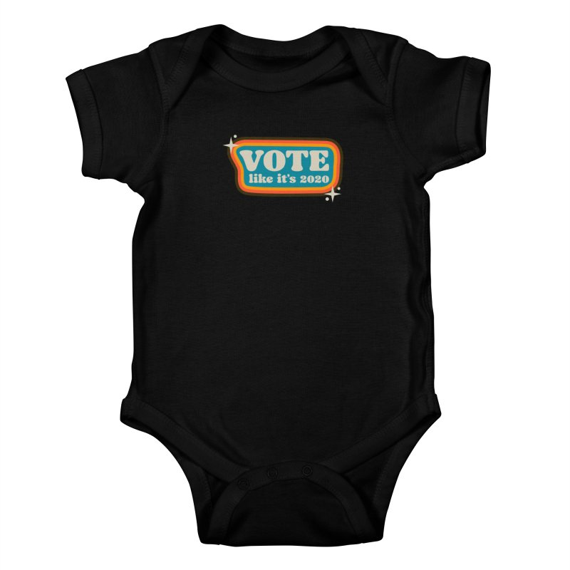 Retro sign - cool Kids Baby Bodysuit by Vote Like Its 2020