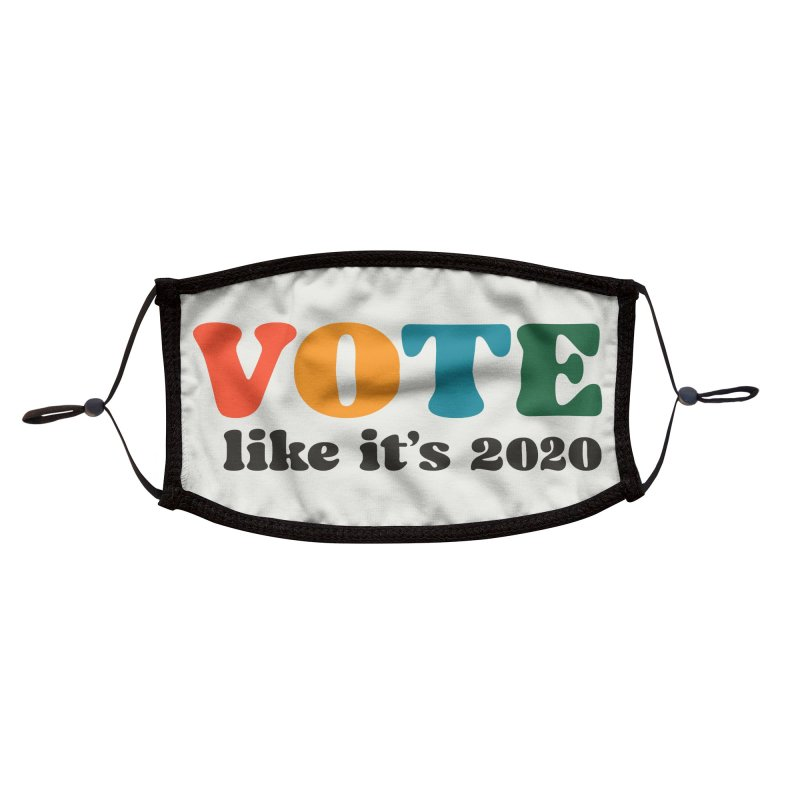 Simple Accessories Face Mask by Vote Like Its 2020