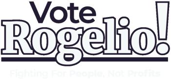 Vote Rogelio! Logo