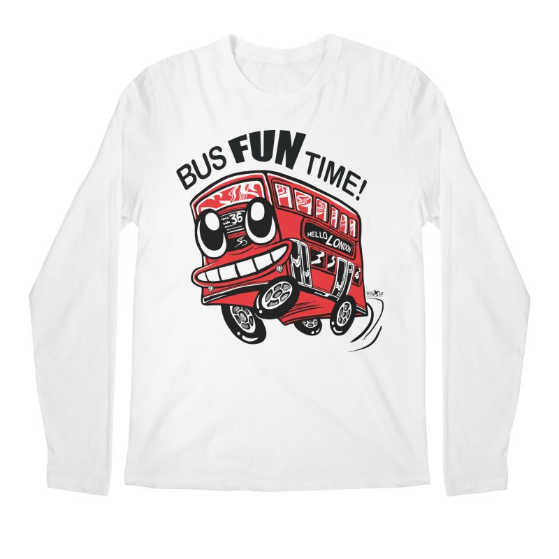 Bus Fun Time Men's Longsleeve T-Shirt by voxie's Artist Shop