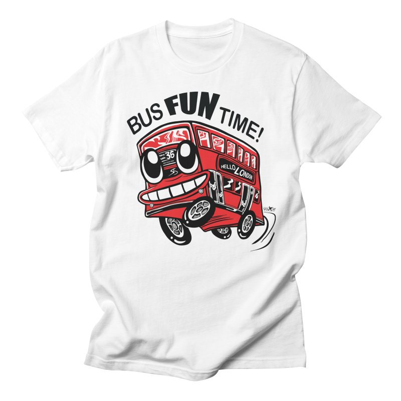 Bus Fun Time Men's T-shirt by voxie's Artist Shop