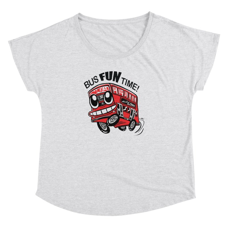 Bus Fun Time Women's Dolman by voxie's Artist Shop