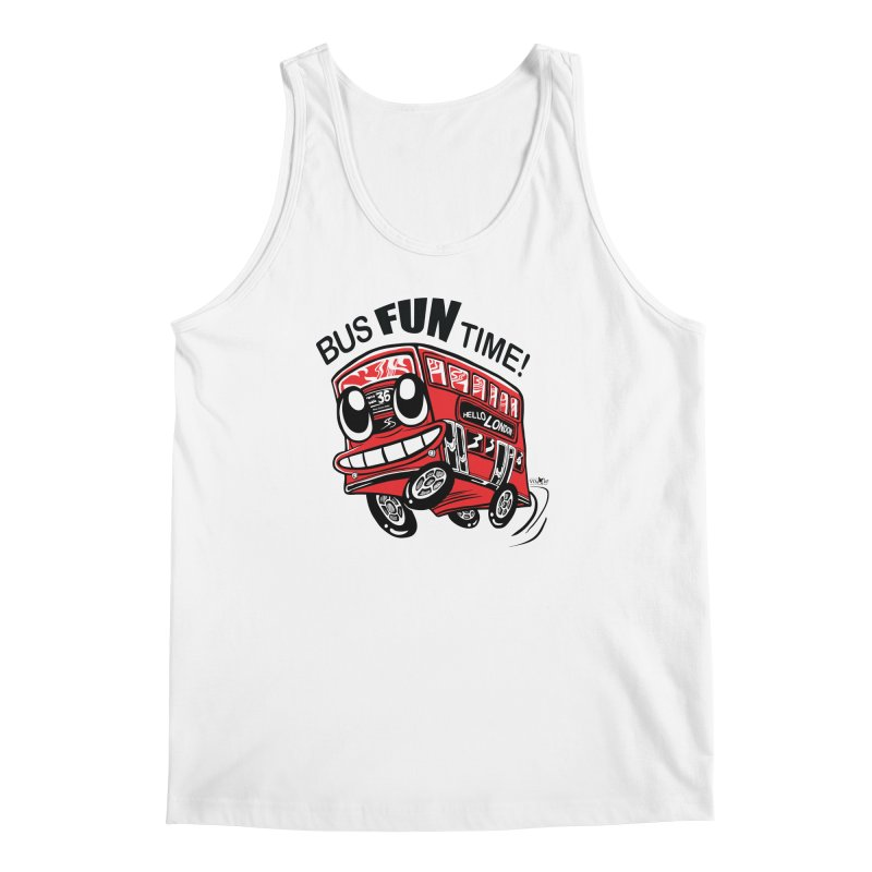 Bus Fun Time Men's Tank by voxie's Artist Shop
