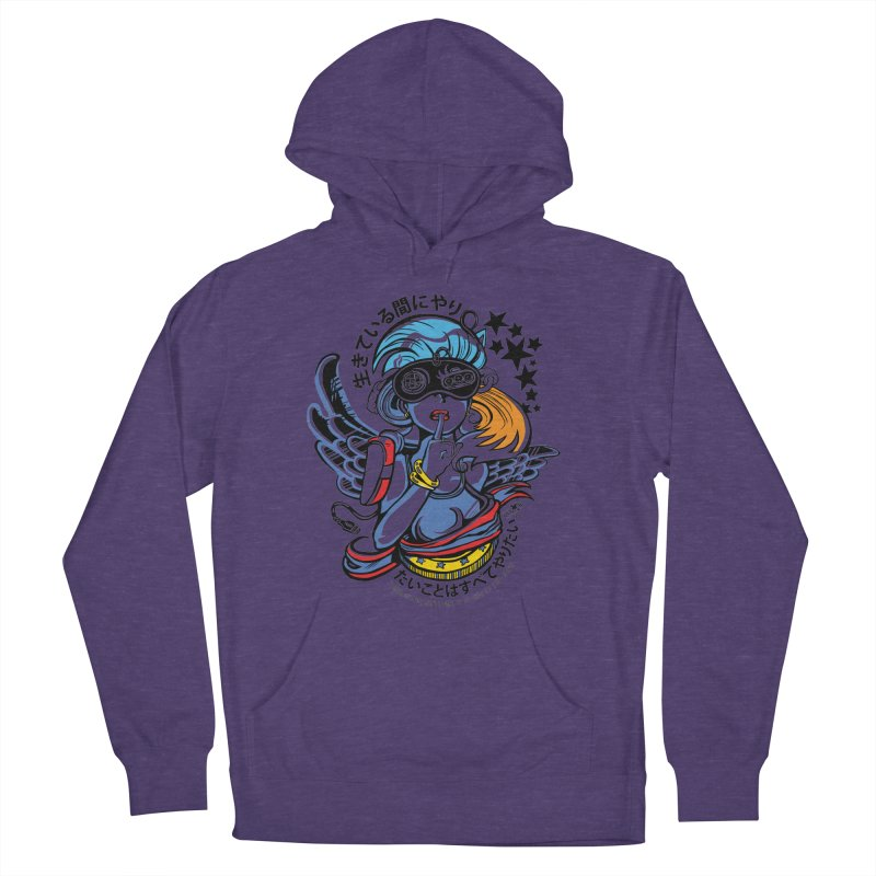Sonic Hair 2013 Women's French Terry Pullover Hoody by voxie's Artist Shop