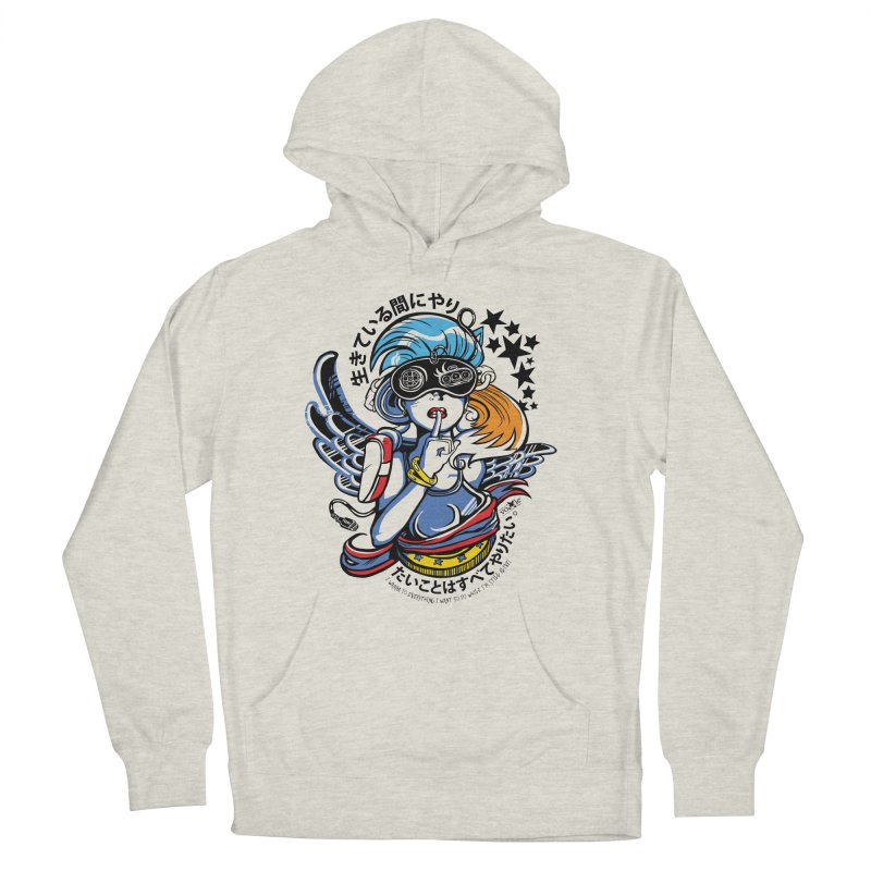Sonic Hair 2013 Men's French Terry Pullover Hoody by voxie's Artist Shop