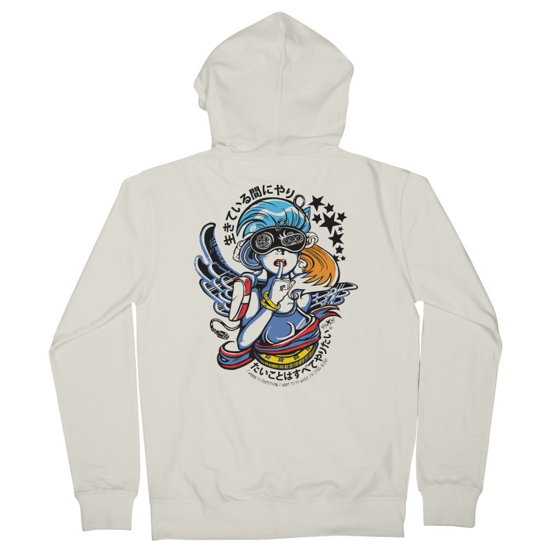 Sonic Hair 2013 Women's Zip-Up Hoody by voxie's Artist Shop