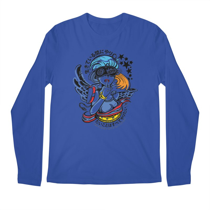 Sonic Hair 2013 Men's Longsleeve T-Shirt by voxie's Artist Shop