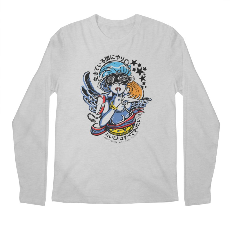 Sonic Hair 2013 Men's Regular Longsleeve T-Shirt by voxie's Artist Shop