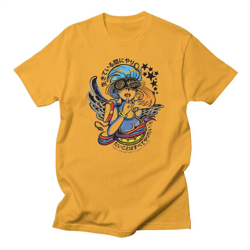 Sonic Hair 2013 Men's Regular T-Shirt by voxie's Artist Shop