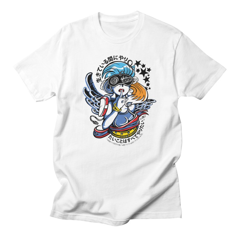 Sonic Hair 2013 Men's Regular T-Shirt by voxie's Artist Shop