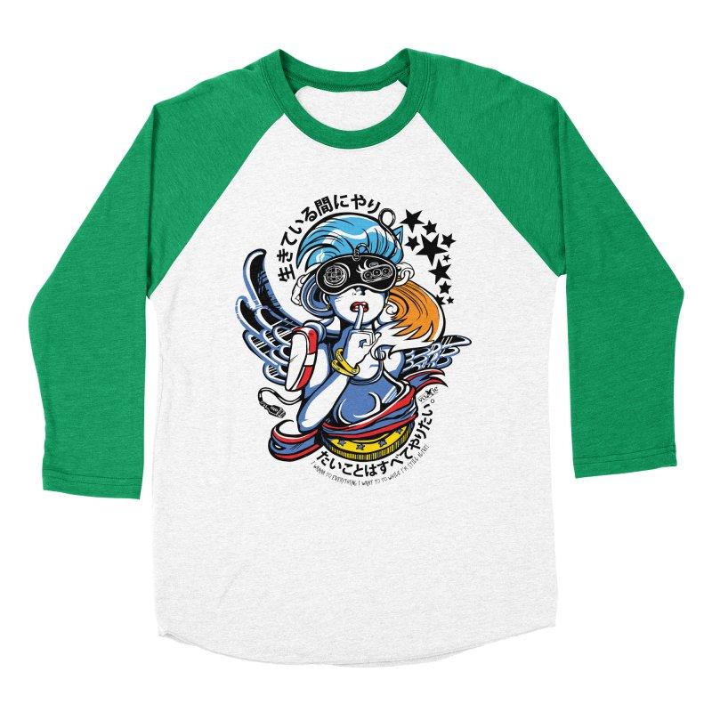 Sonic Hair 2013 Men's Baseball Triblend T-Shirt by voxie's Artist Shop