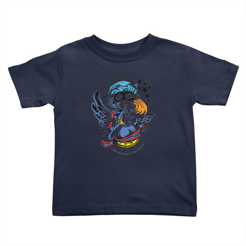 Sonic Hair 2013 Kids Toddler T-Shirt by voxie's Artist Shop