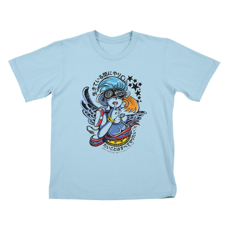Sonic Hair 2013 Kids T-Shirt by voxie's Artist Shop