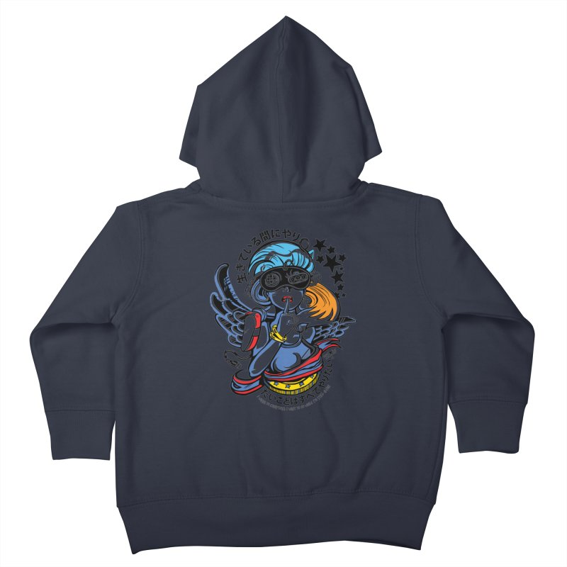 Sonic Hair 2013 Kids Toddler Zip-Up Hoody by voxie's Artist Shop
