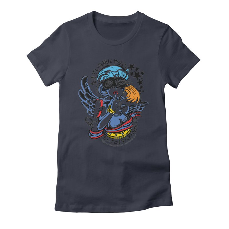 Sonic Hair 2013 Women's Fitted T-Shirt by voxie's Artist Shop